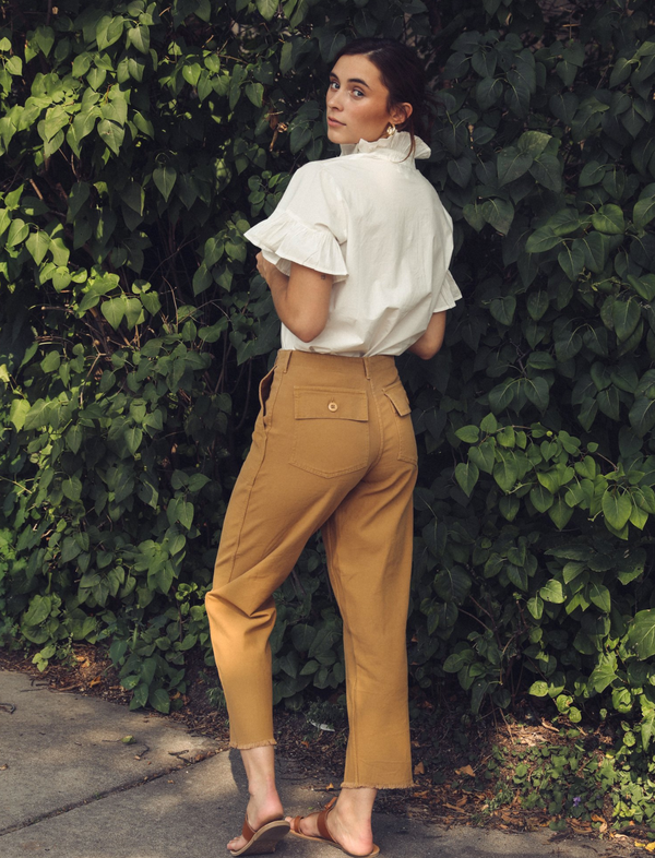 Mille Ines Pant Almond