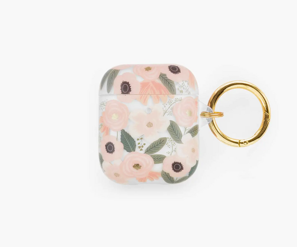 Rifle Paper Co. Clear Wildflowers AirPod Case