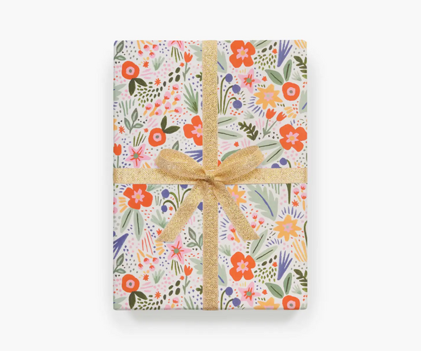 Rifle Paper Co. Roll of 3 Fiesta Wrapping Sheets