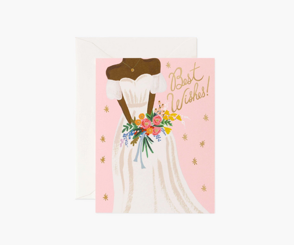 Rifle Paper Co. Beautiful Bride Rose Card