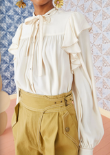 Ulla Johnson Tabitha Blouse Blanc