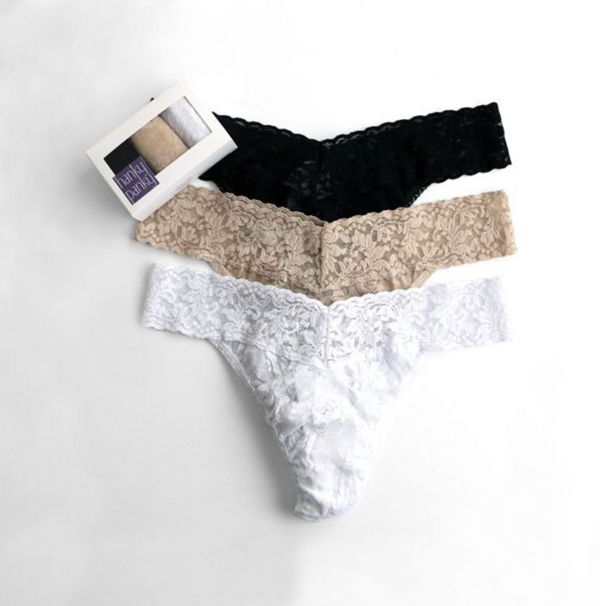 Hanky Panky 3pack Low Rise Thong