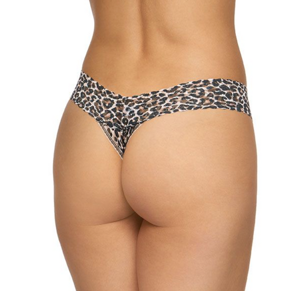 Hanky Panky Classic Leopard Low Rise Thong