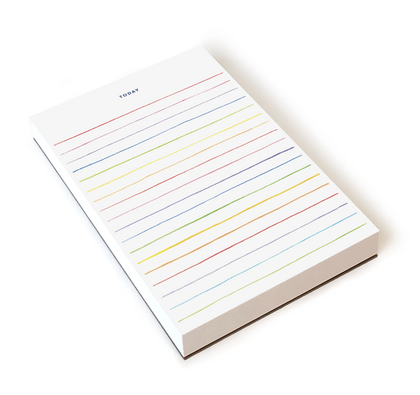 E Frances Paper Notepad Multi Stripes