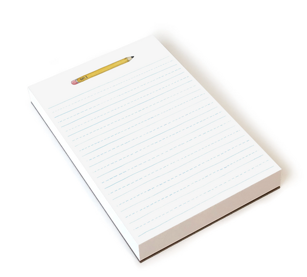 E Frances Paper Notepad Pencil