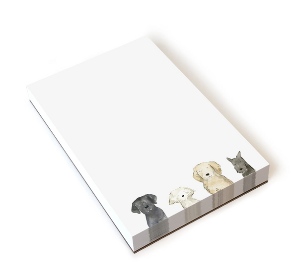E Frances Paper Notepad Dog Days