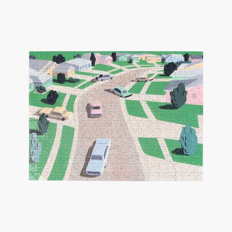Slowdown Studio Pastel Suburbia Puzzle
