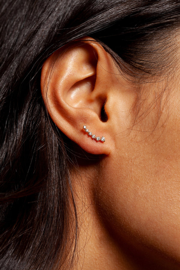 Sophie Ratner Diamond Swell Studs