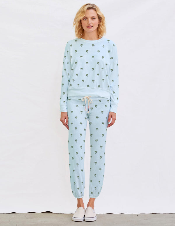 Sundry Palms Sweatpants Seafoam