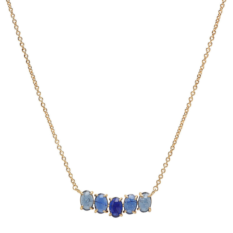 Tai Cluster Birthstone Necklace