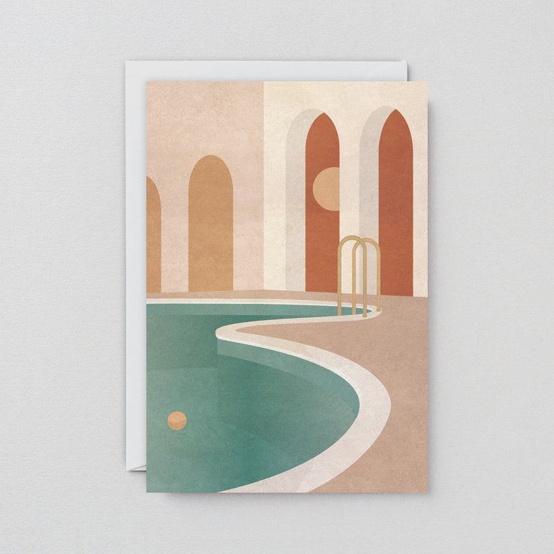 The Wrap Pool with Arches Art Card