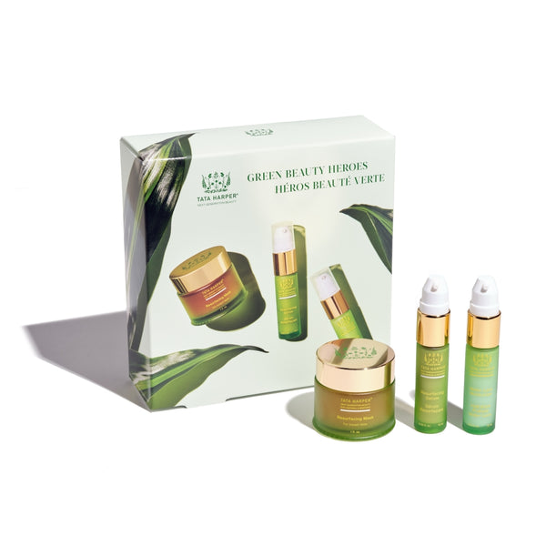 Tata Harper Green Beauty Heroes Set