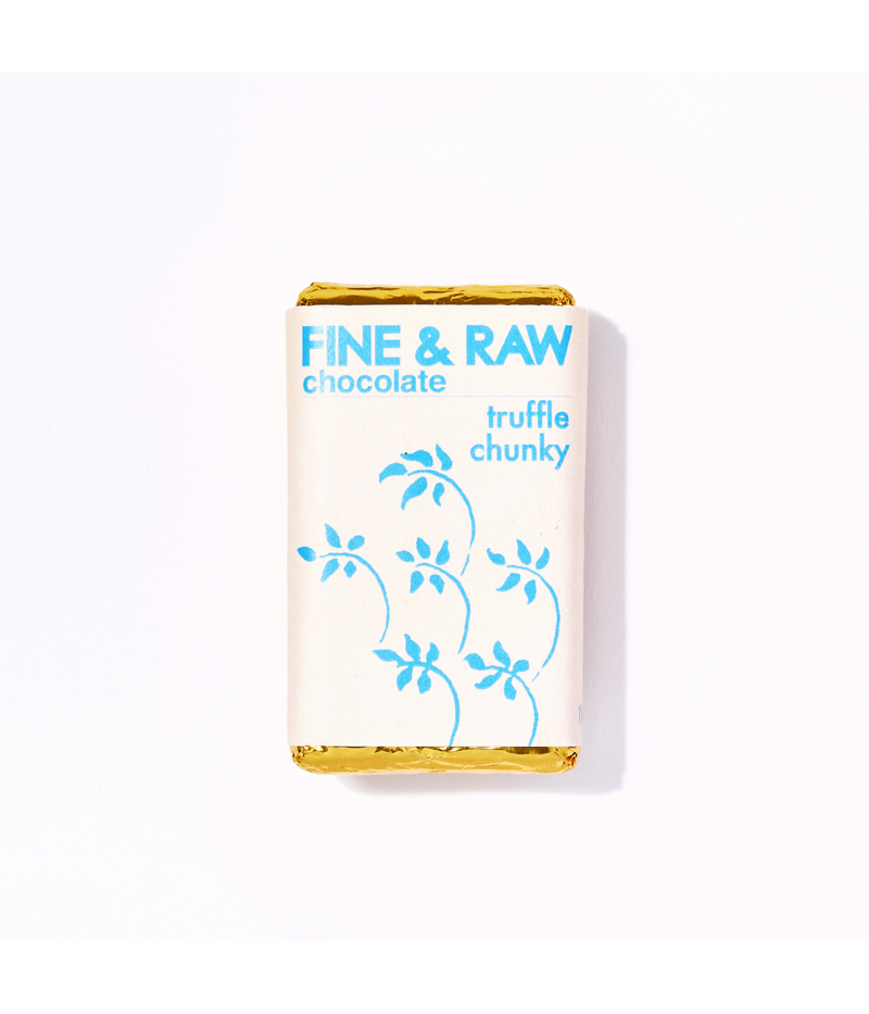 Fine & Raw Chunky Chocolate