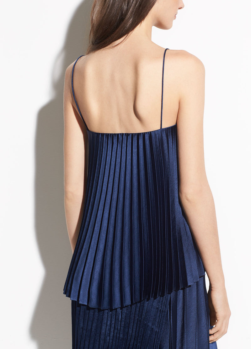 Vince Pleated Cami Hydra