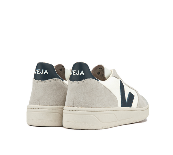 Veja Fair Trade V-10 Bmesh White Nautico