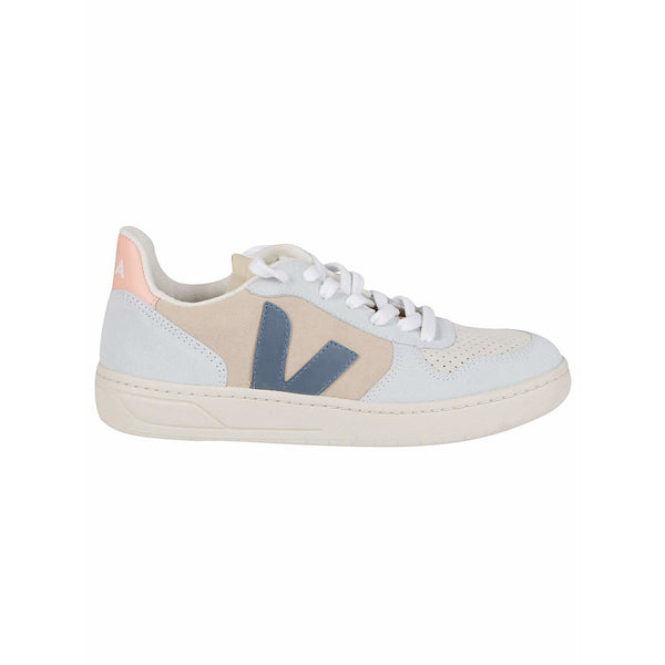 Veja Fair Trade V-10 Suede Multico Almond California