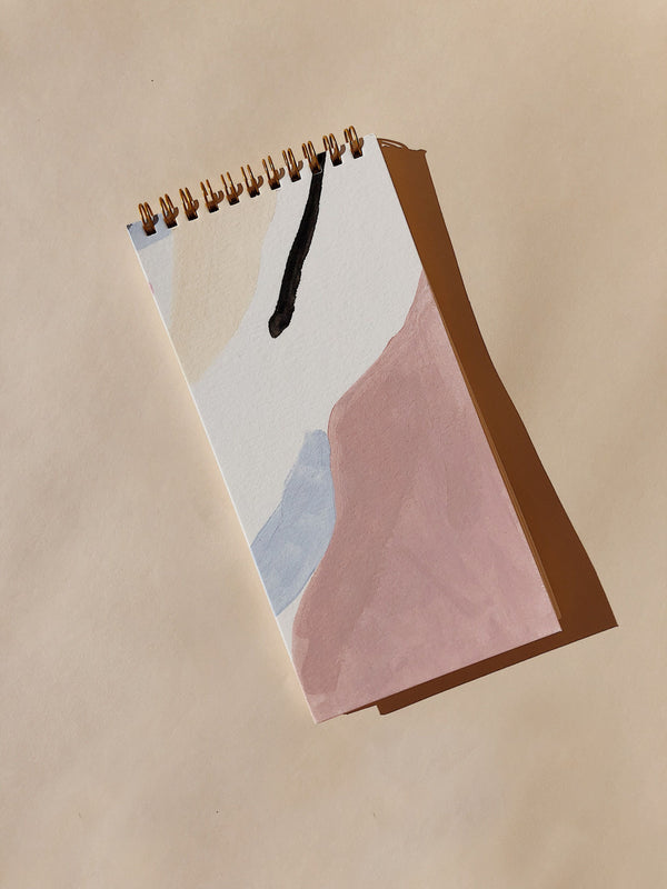 Wilde House Paper Minimal Painted Skinny Notepad