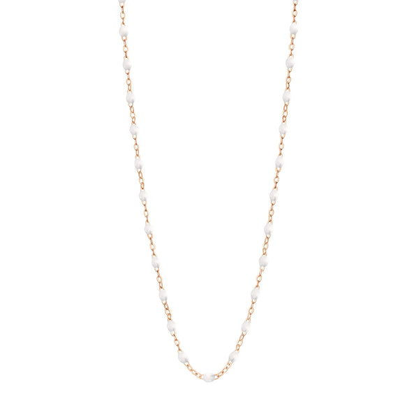 "Gigi Clozeau 18K Classic Necklace 17.7"" Rose Gold"