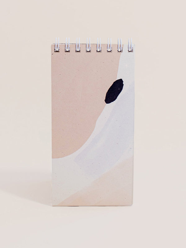 Wilde House Paper Abstract Skinny Notepad