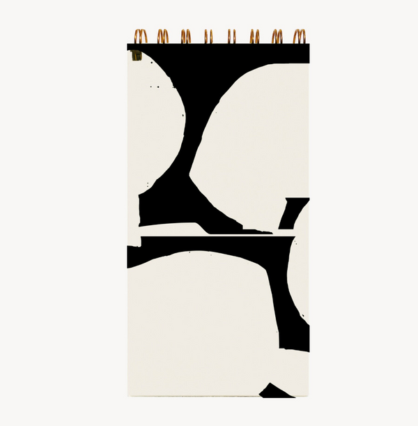 Wilde House Paper Collage Skinny Notepad