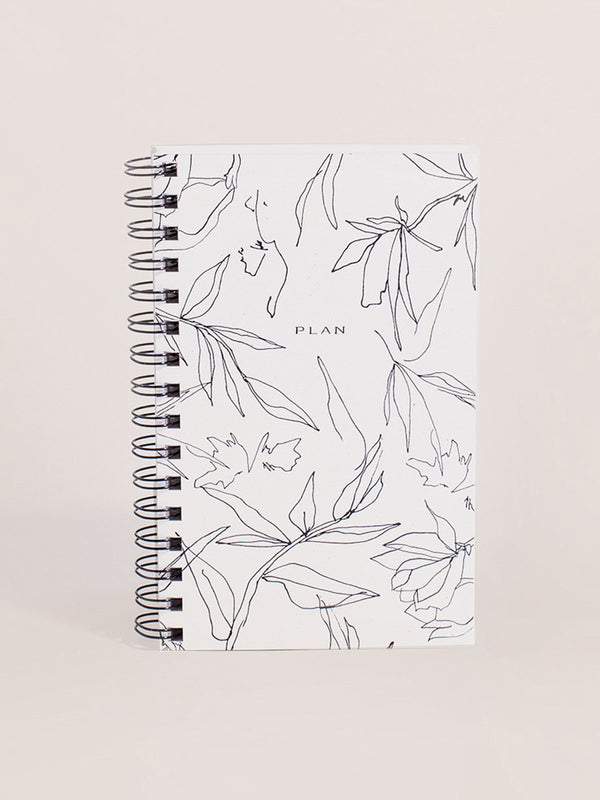 Wilde House Paper Flora Weekly Planner