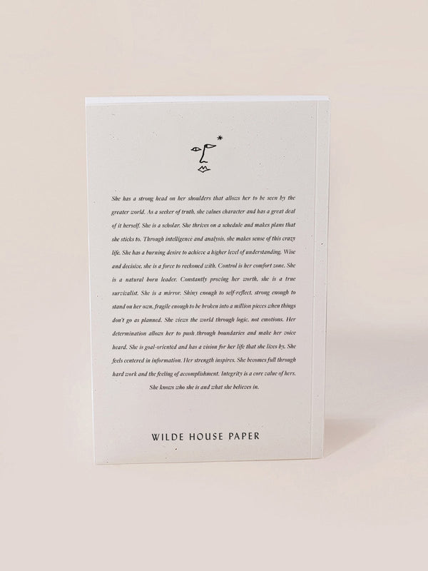 Wilde House Paper Realist Journal