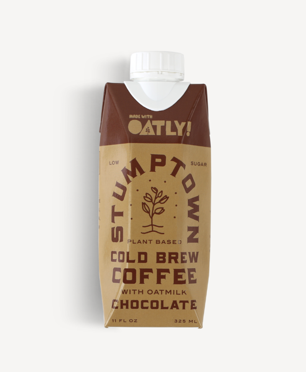 Stumptown Cold Brew RTD Oatly Chocolate