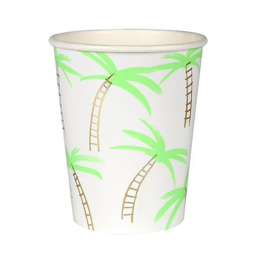Meri Meri Palm Trees Cup S/8