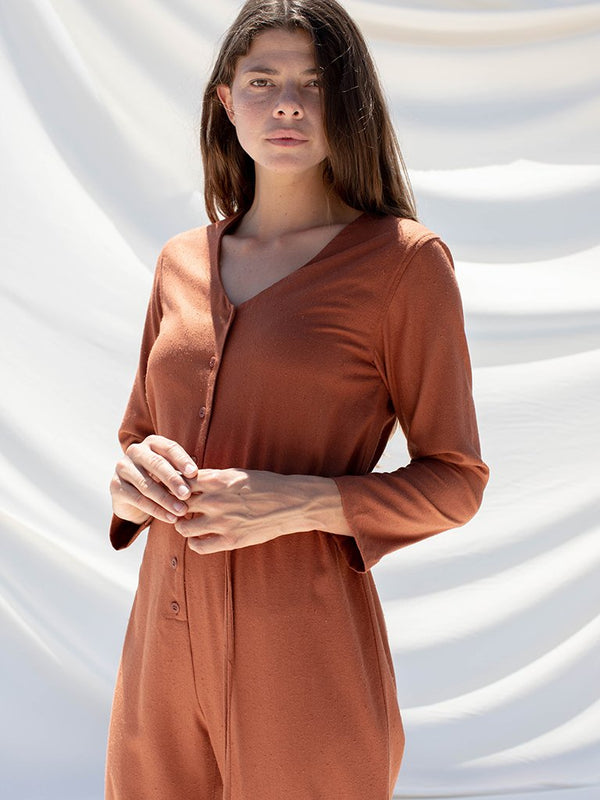 Ozma Longsleeve Cypress Playsuit