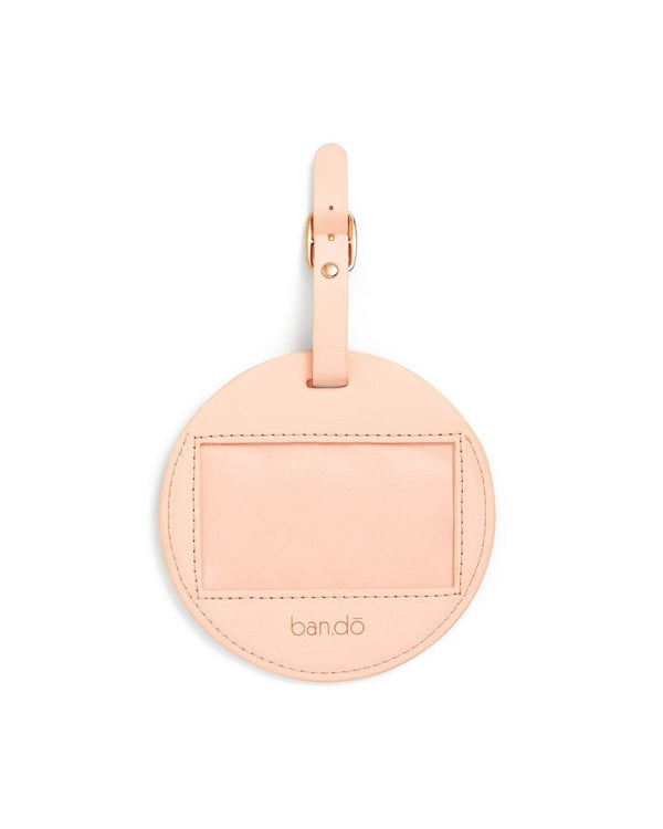 BandoGetaway Round Luggage Tag - Golden Girl
