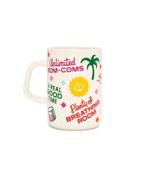 BandoHot Stuff Big Ceramic Mug - Staycation