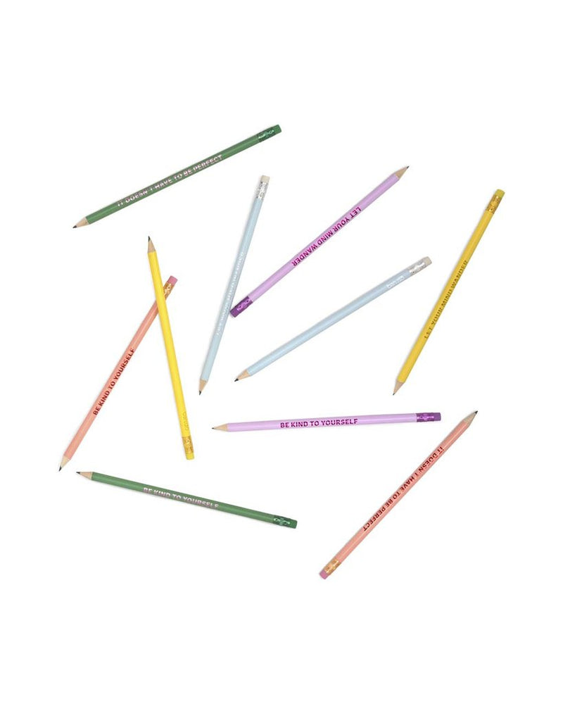 Bando write on pencil set take care