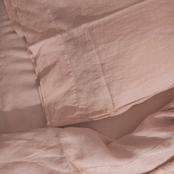 Hawkins New York Simple Linen Duvet Cover