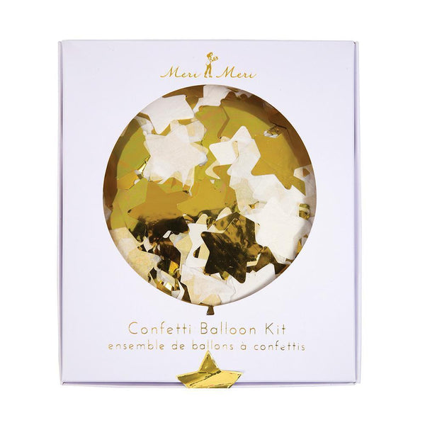 Meri Meri Confetti Gold Balloon Kit