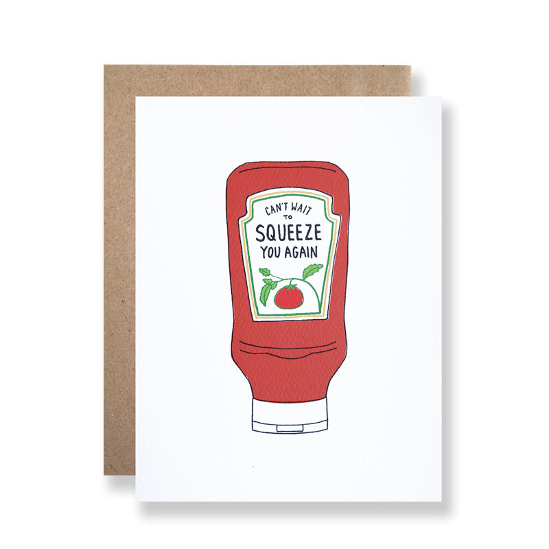 Hartland Brooklyn Love and Friendship Squeeze Ketchup
