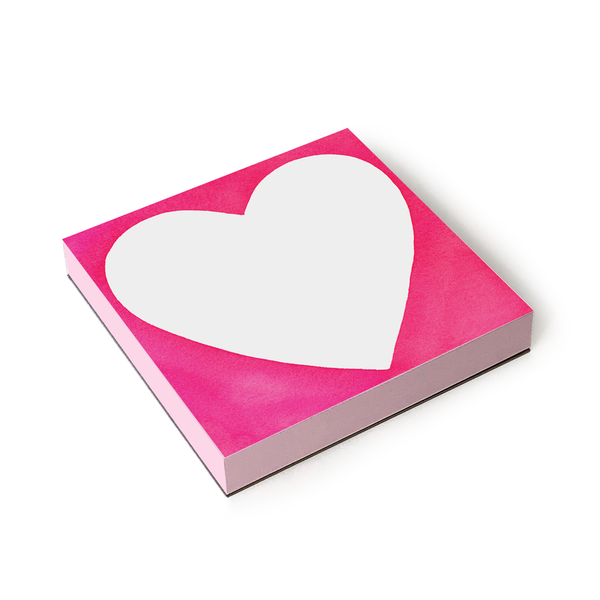 E Frances Paper Chubby Heart Notepad