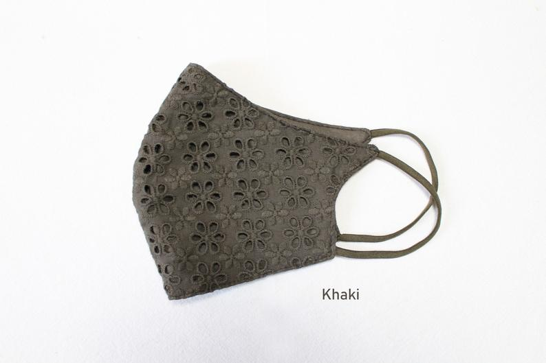 Eyelet Lace Face mask