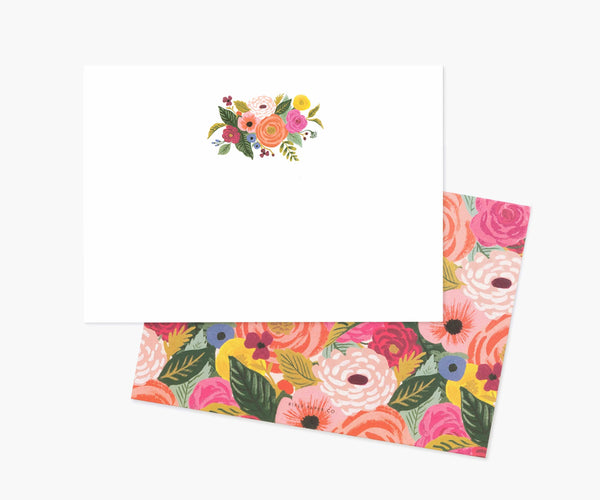 Rifle Paper Co Juliet Rose Social Stationery Set