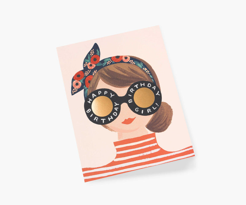 Rifle Paper Co Birthday Girl Card