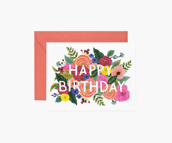Rifle Paper Co Juliet Rose Birthday Card