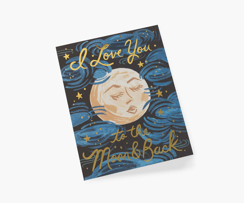 Rifle Paper Co To the Moon and Back Card