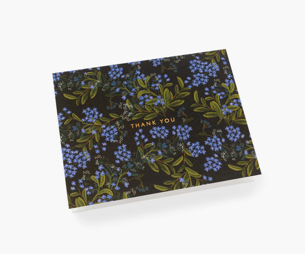 Rifle Paper Co Cornflower Thank You Card