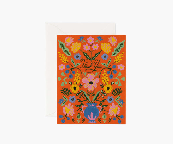 Rifle Paper Co Gabriella Thank You Card