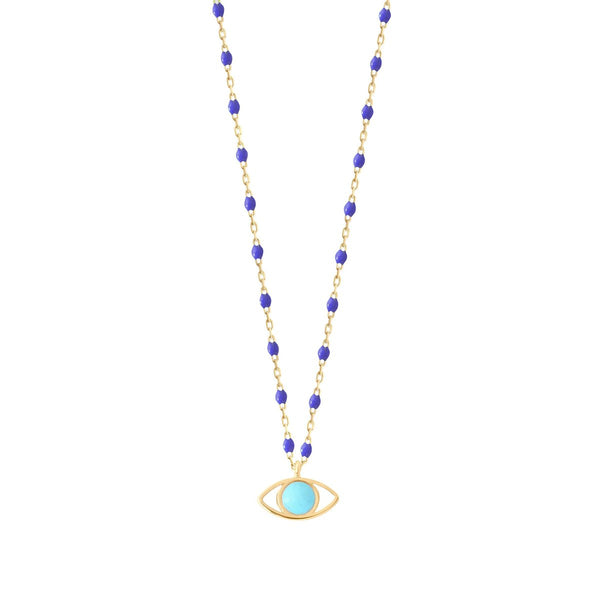 Gigi Clozeau Mini Eye Necklace
