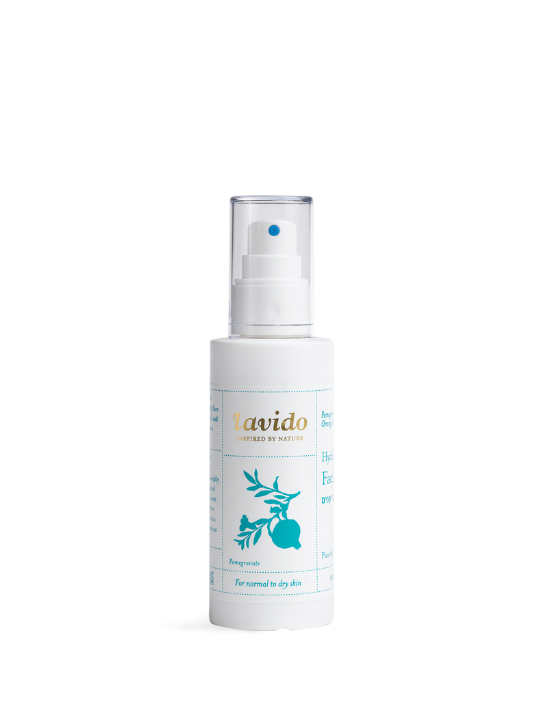 Lavido Hydrating Facial Toner (Pomegranate Peel, Orange Blossom & Carrot)