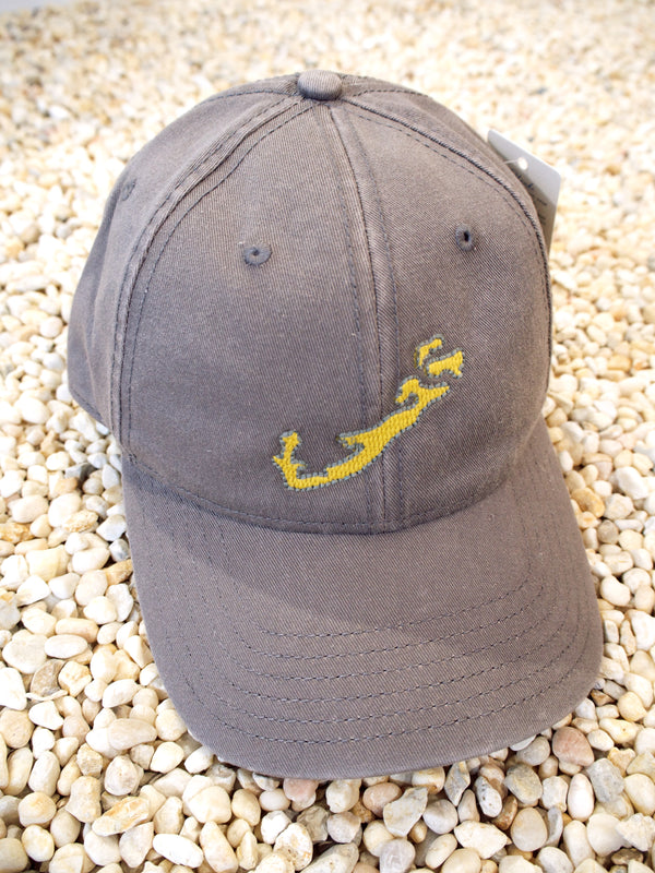 Hat Dark Grey/Yellow