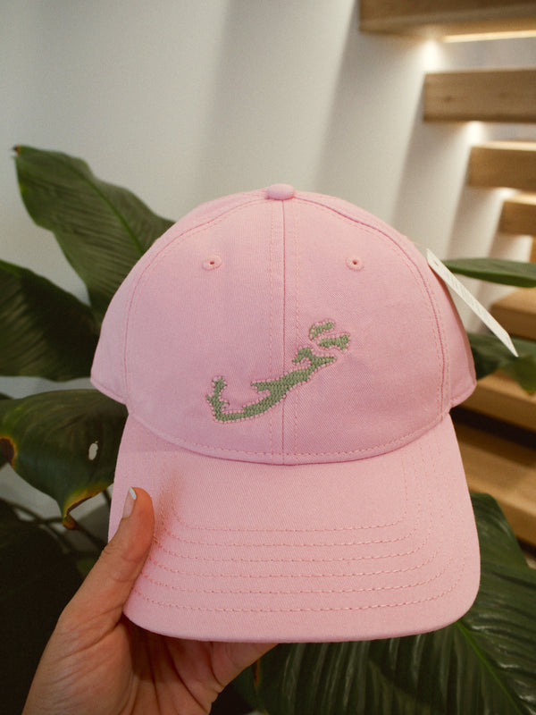 Hat Light Pink/Green