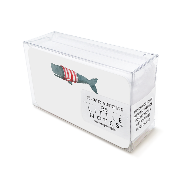 E Frances Paper Little Notes Whale