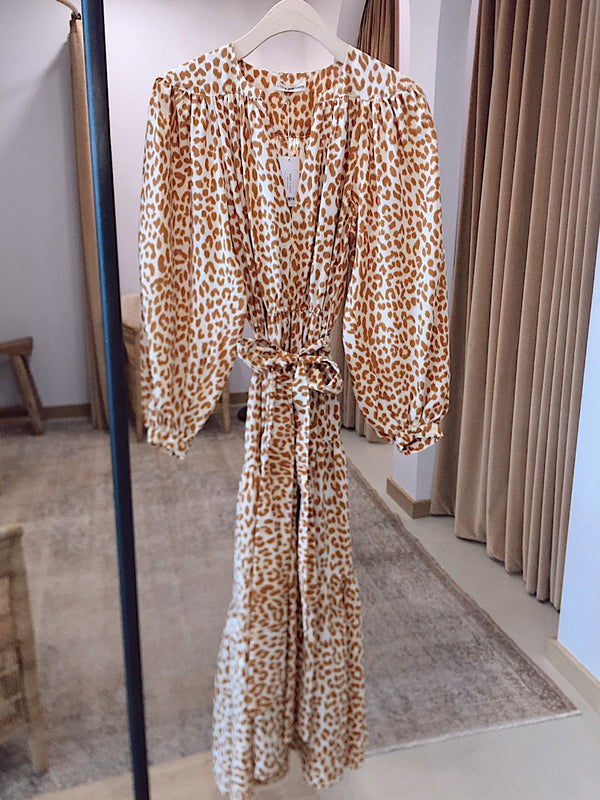 Ulla Johnson Daria Dress Cheeta