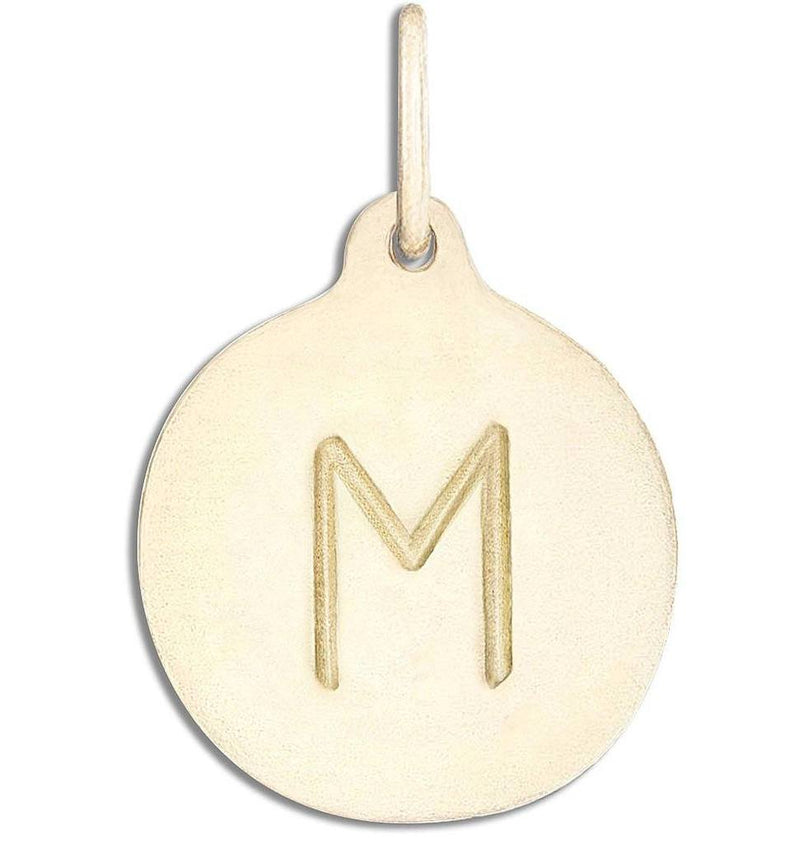 Helen Ficalora Disk Charm - Initial